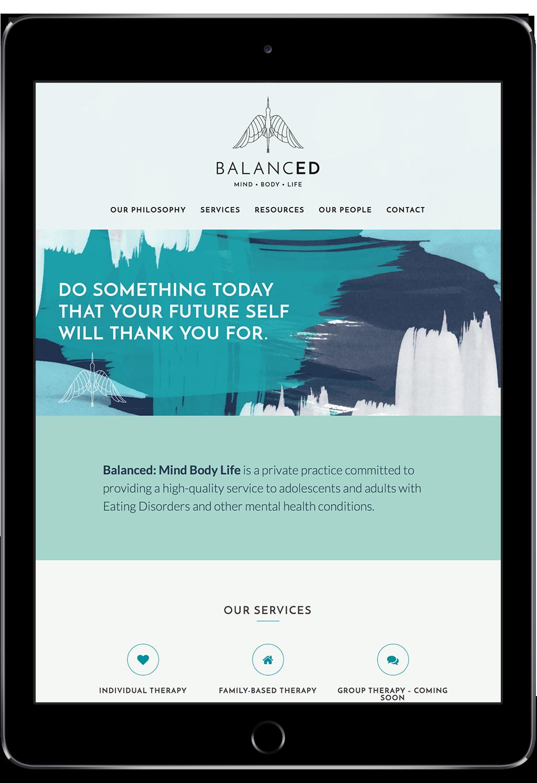 Balanced website