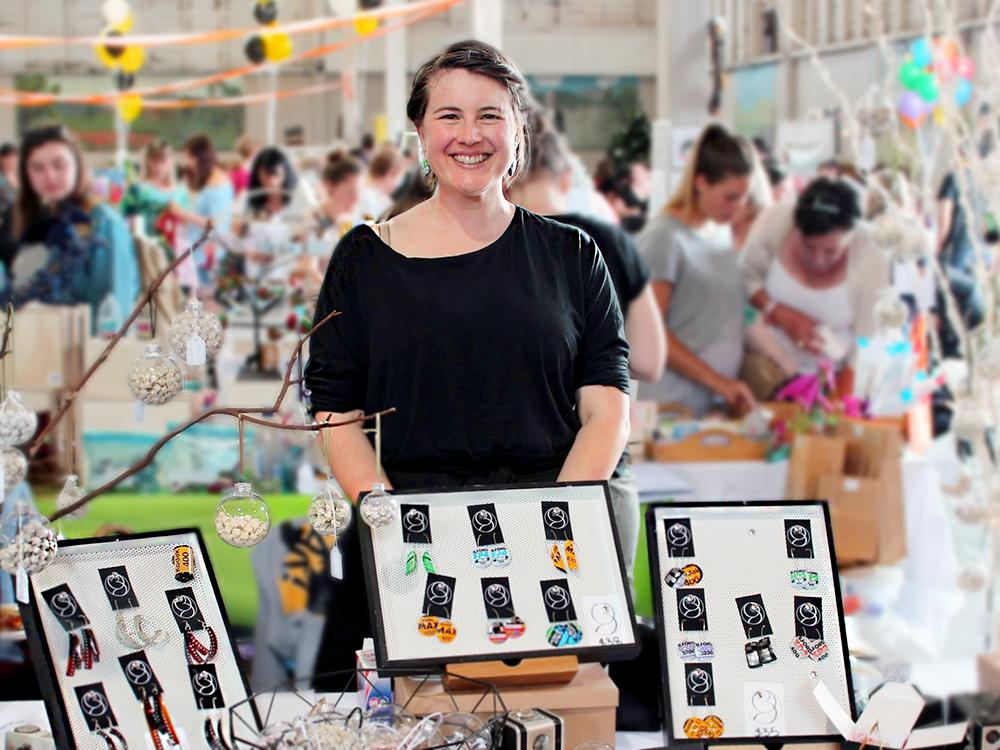 Olivia of ORBmaker, Etsy Made Local Hobart