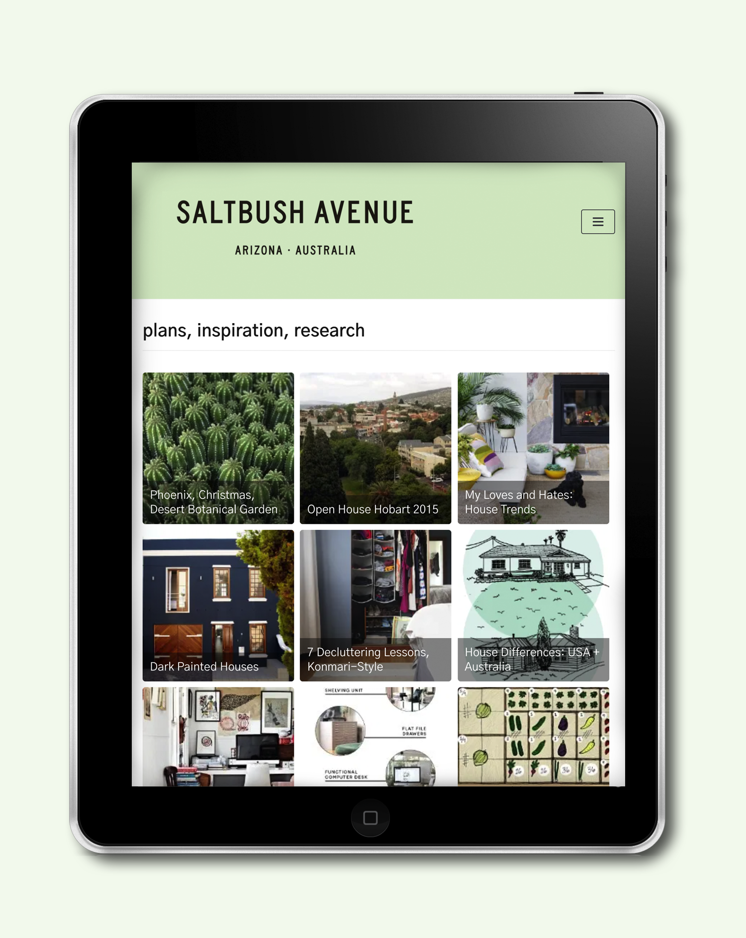 Blog archive | Saltbush Avenue