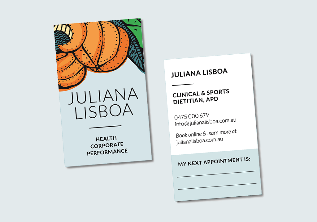 JL business cards